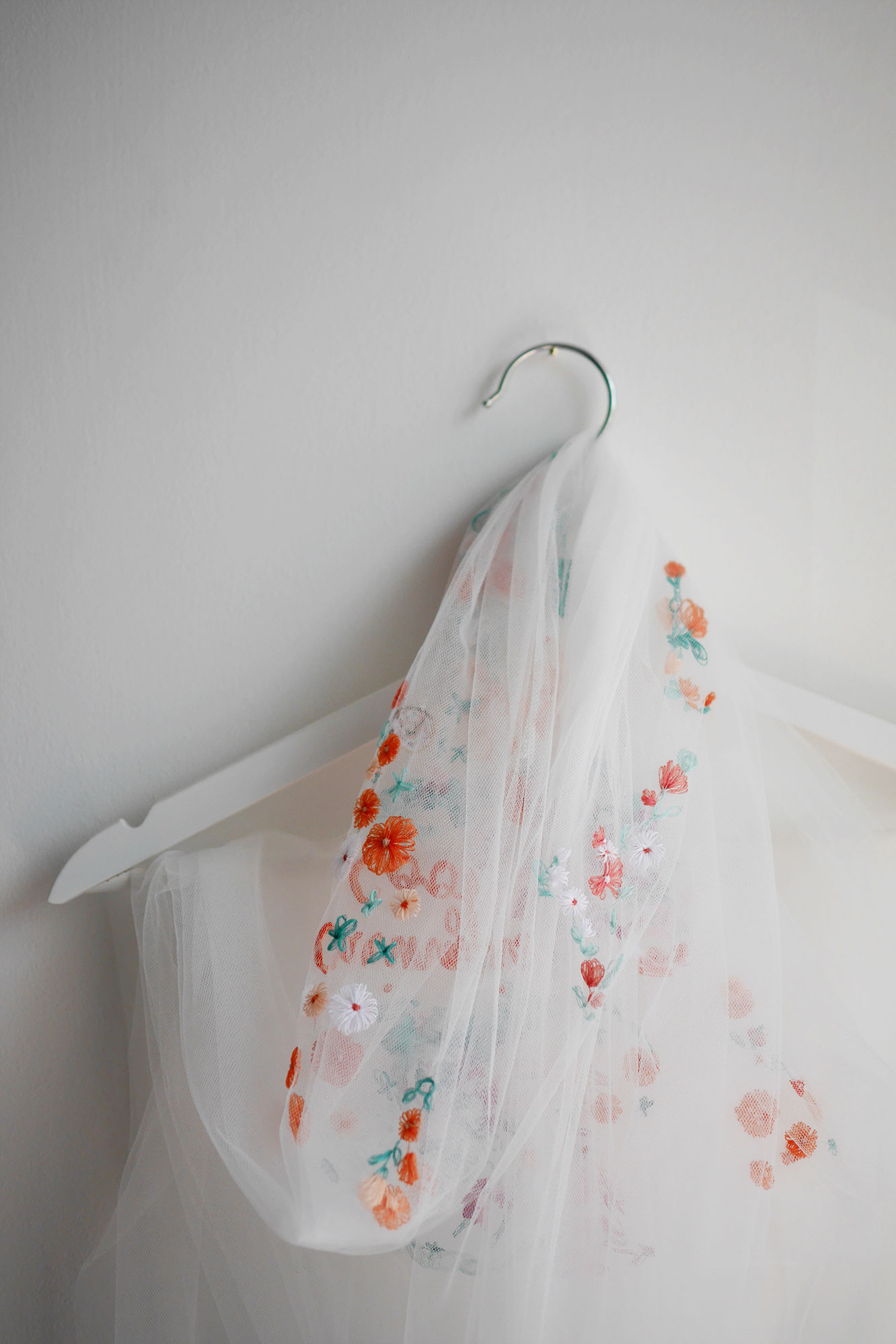 Veils, Dresses, Separates, Accessories - Bespoke Embroidery