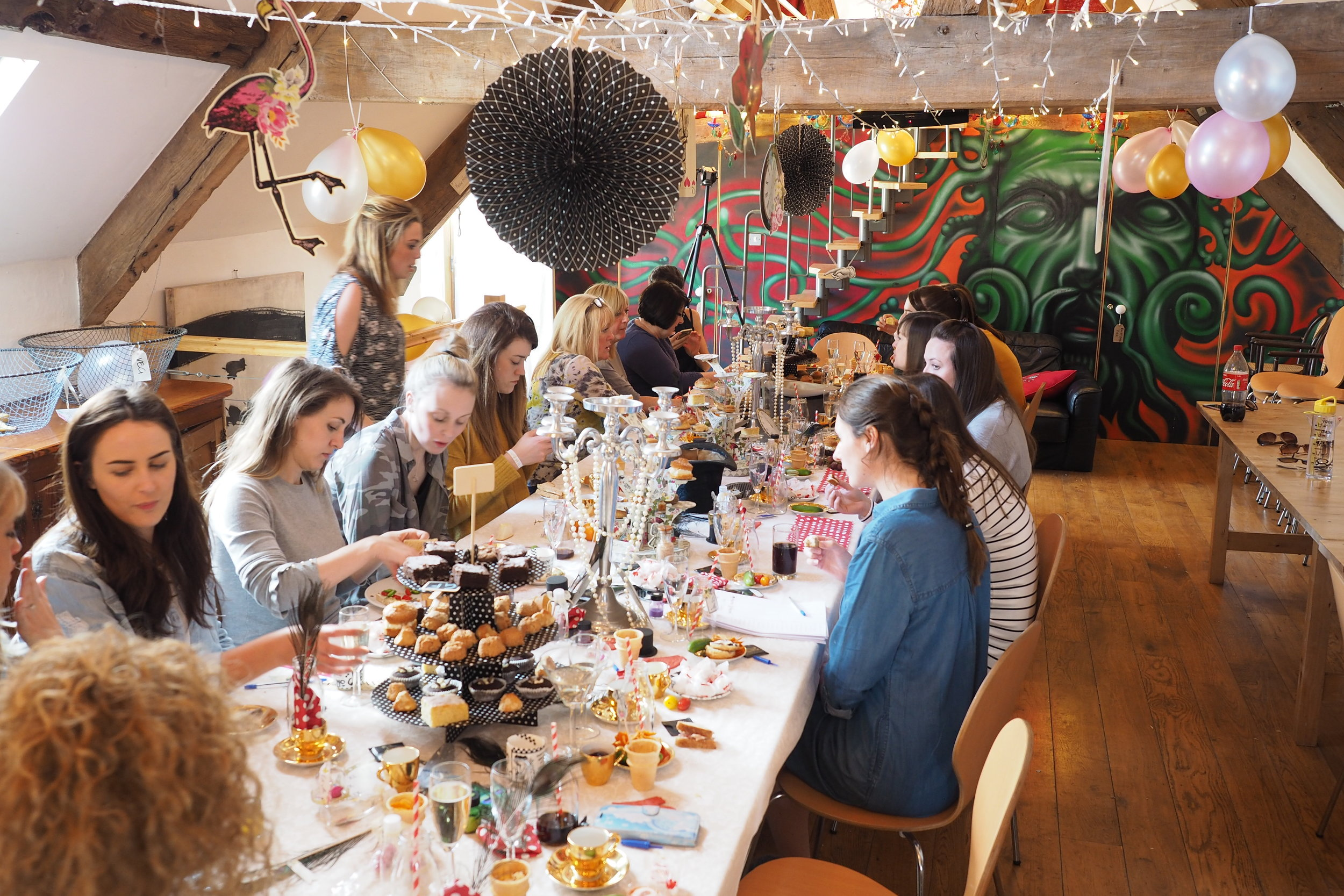 Mad Hatters Tea Party -