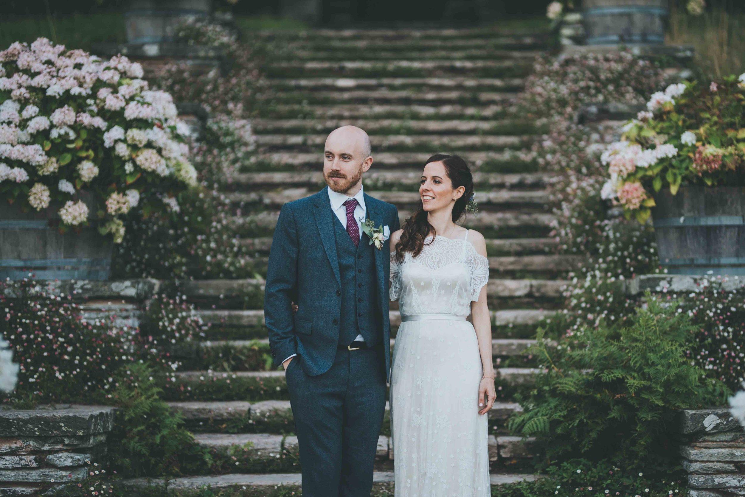 Cristina + John - Hestercombe Gardens, Taunton