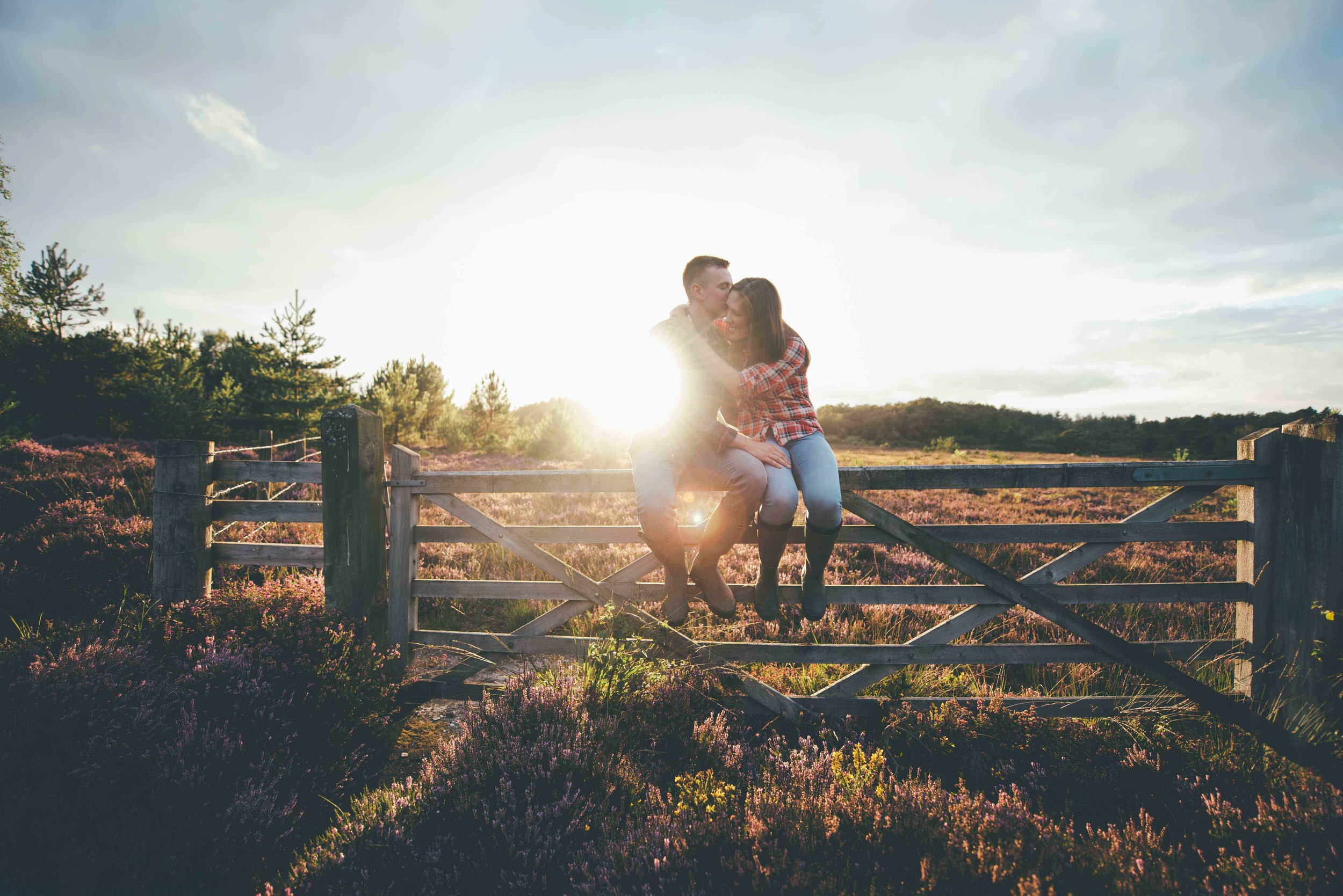 Jennie + Matt - Wareham Forest, Dorset