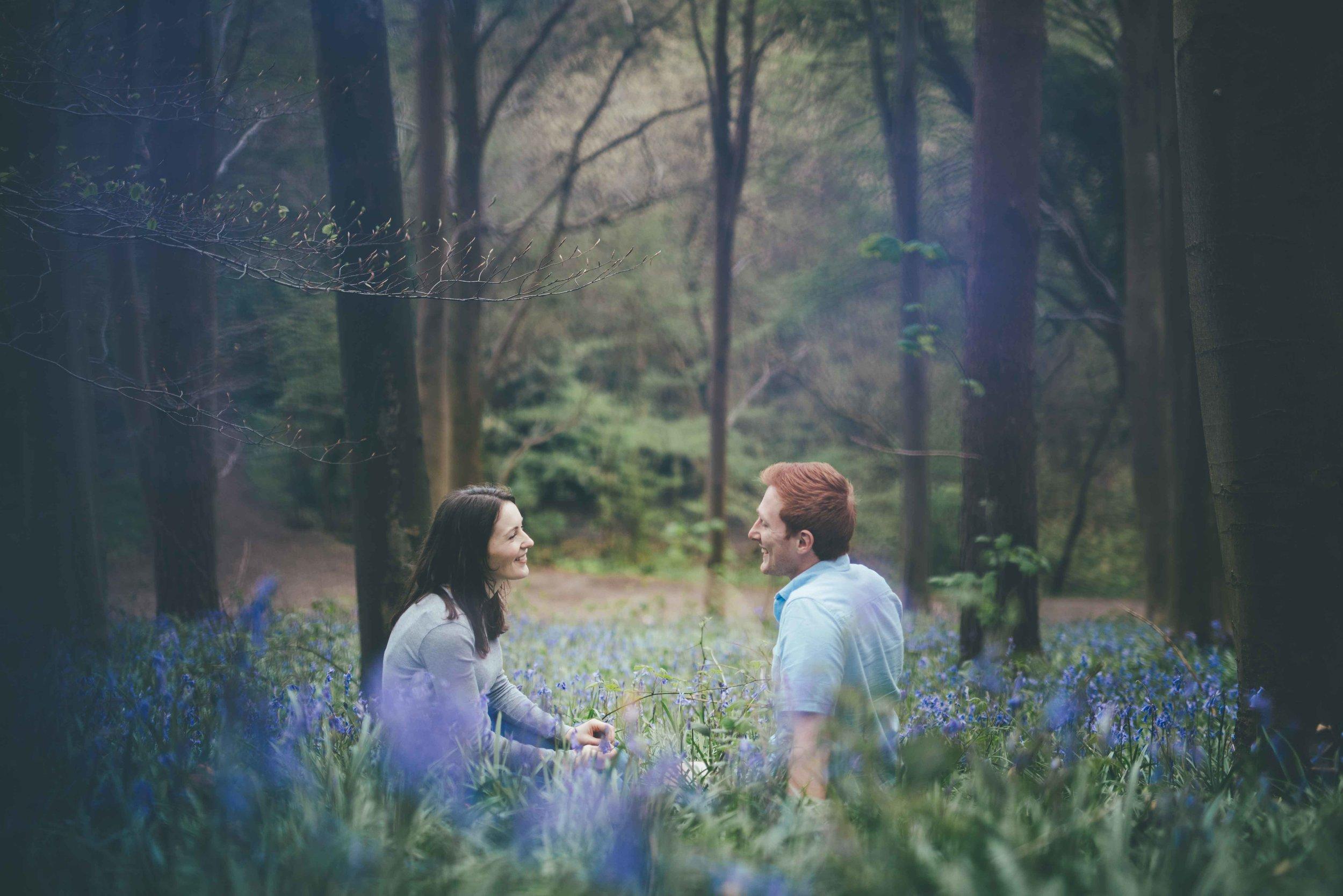 Emma + George - Erlestoke Woods, Wiltshire
