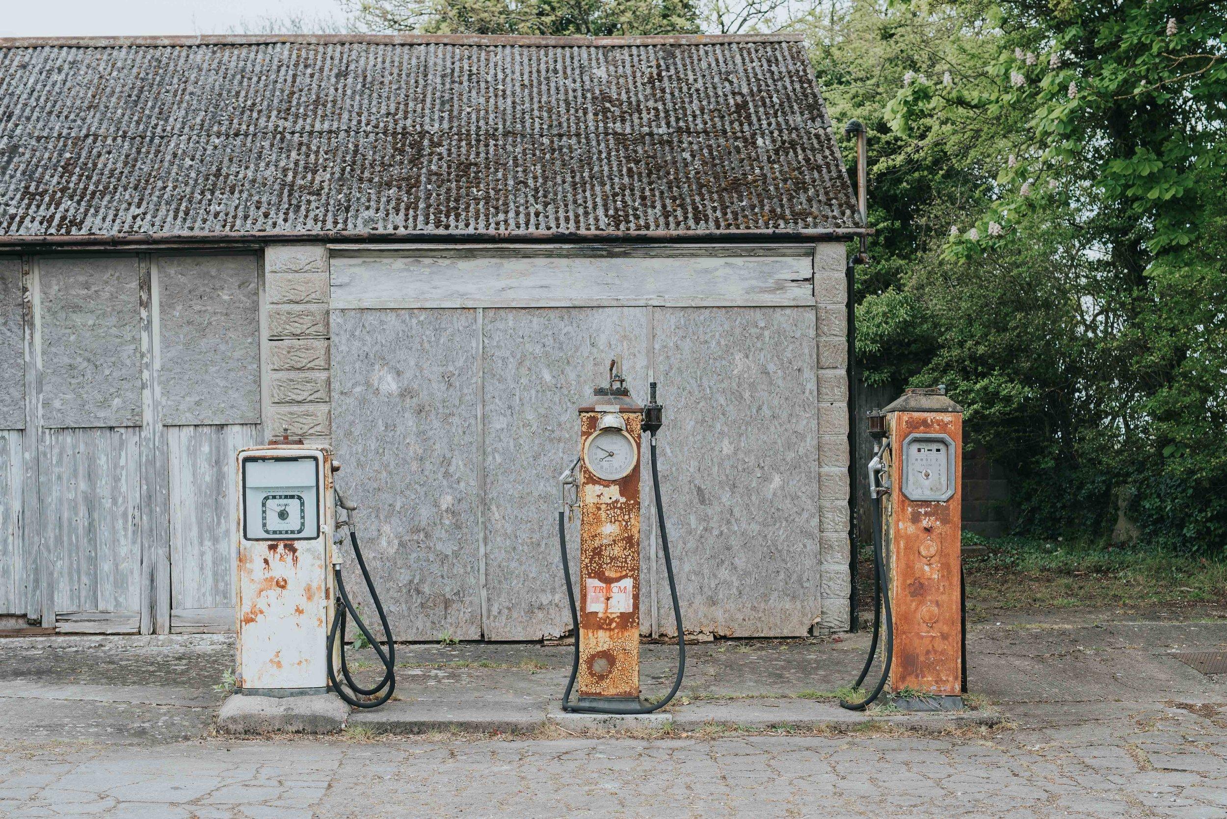 Abandoned Petrol Station -