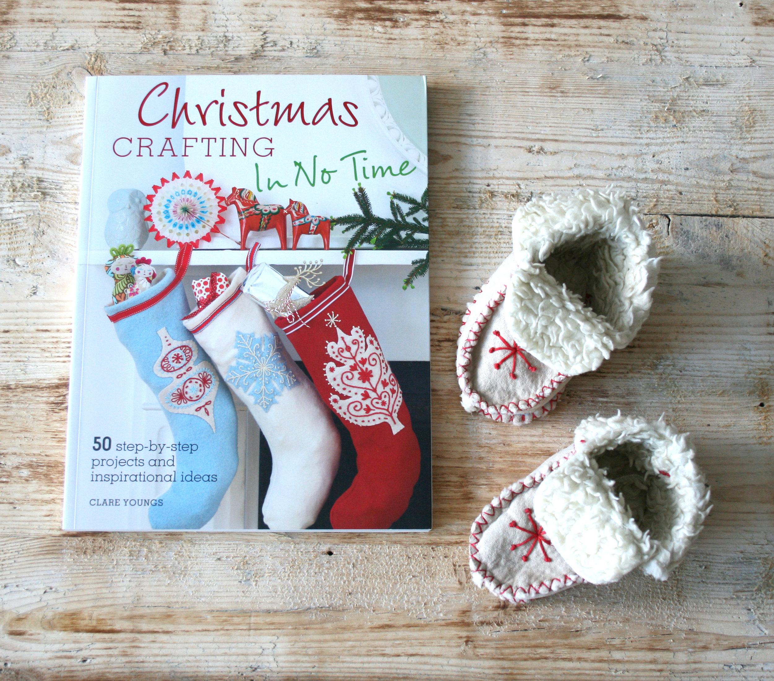 christmas crafting.JPG
