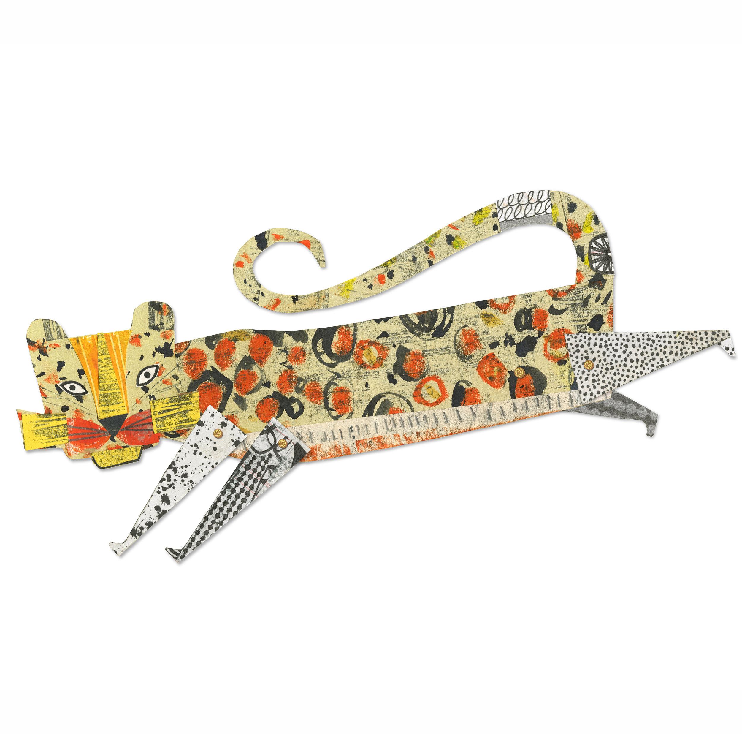 cheetah   from forthcoming  animal parade  book