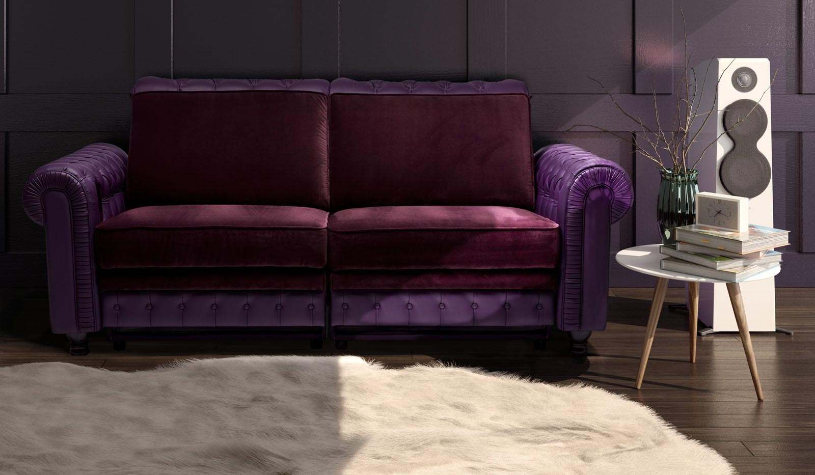 CHESTERFIELD SOFA - Media Room Sofa