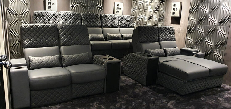 Home Cinema Seating And A Room, Home Theater Couch Living Room Furniture