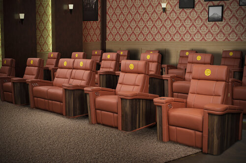 Home Cinema Seating And A Room, Theater Seating Furniture