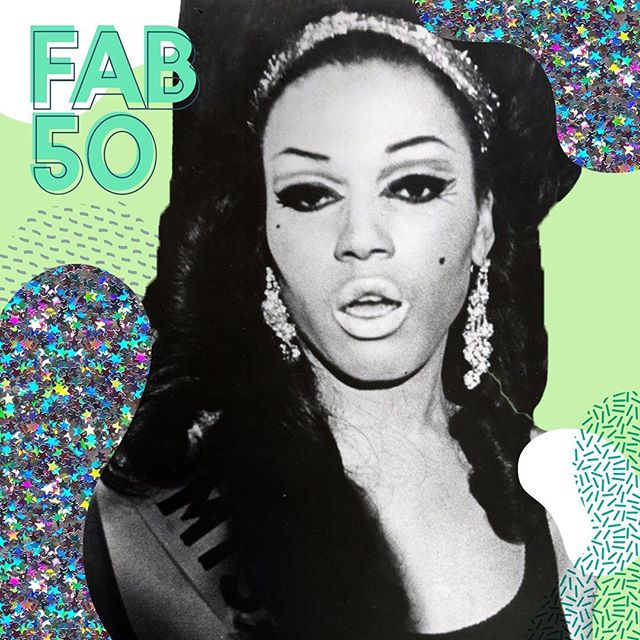 "Do you know the history of ballroom culture? Balls became popular in the 80s in cities like New York and Atlanta as a safe haven for queer people of color to live their best lives. For today's #Fab50, here are some notable stars and achievements in ballroom culture from the past and Present.  CRYSTAL LABEIJA |  Along with her friend Lottie, Labeija started the iconic drag ball ""House of Labeija"" which effectively kickstarted the ballroom scene in New York.  WILLI NINJA 