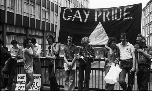 #PrideMonth makes its way to London tomorrow. A lot has changed since 1972 when the Gay Liberation Front organised the UK's first 'Gay Pride'. Read more about London Pride then and now in our latest blog post.  Link in bio.  #londonpride #pride #stonewall50 #mentorship #worldpride