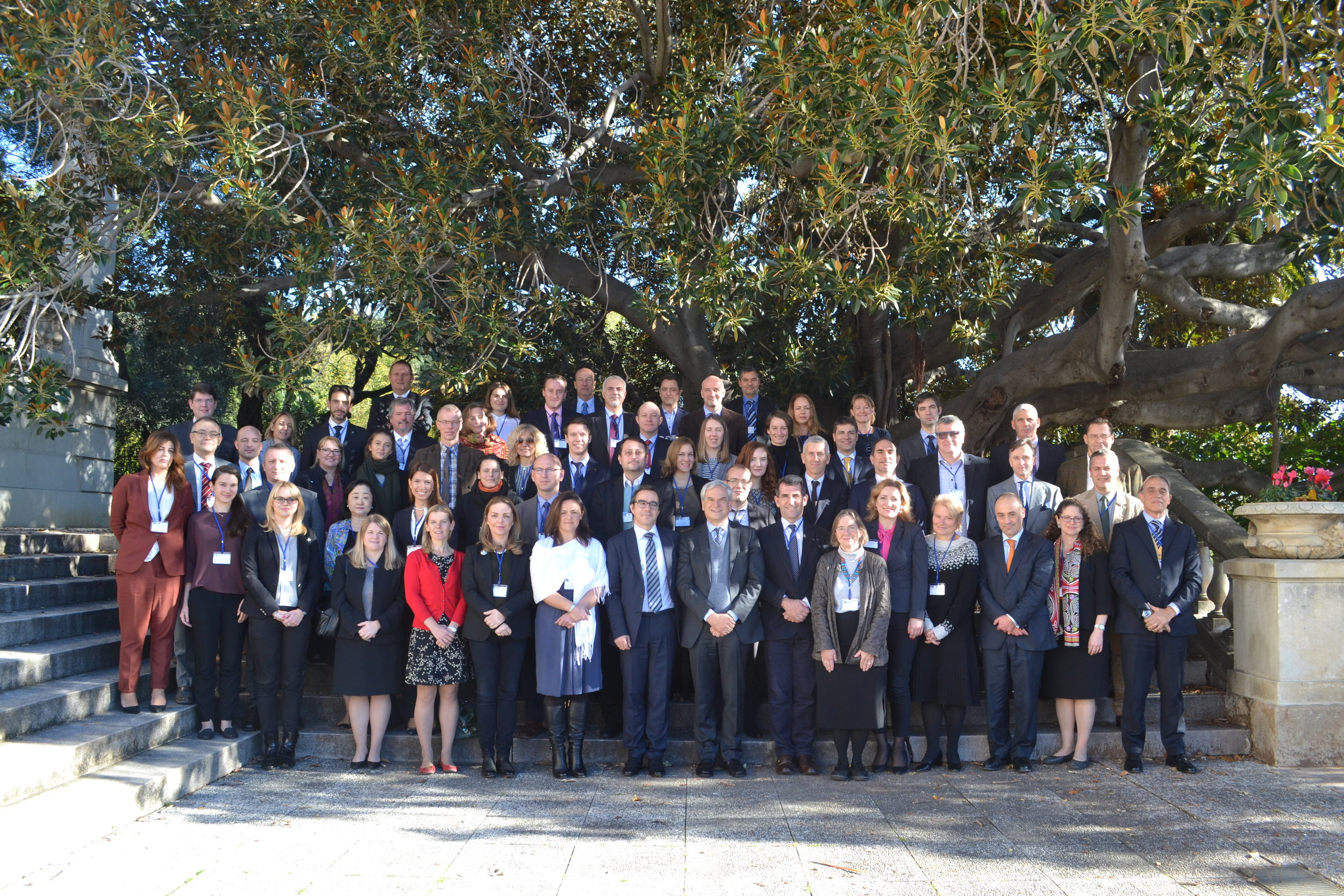 Group photo NATO SPS CPP San Remo Conference December 2016