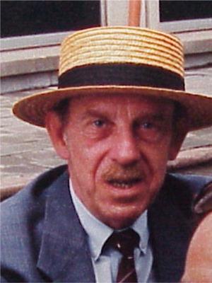 """1991: Bob Van Stayen   lid van de Antwerpse """"Strangers"""