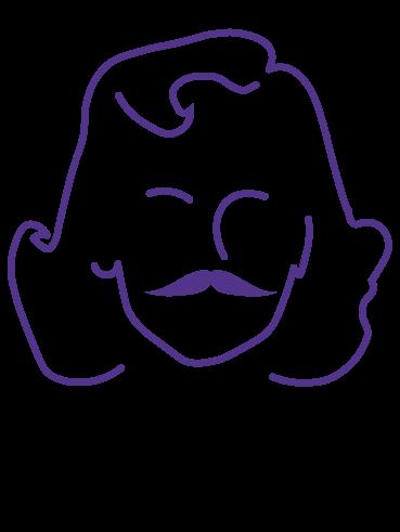 L1.  Realistic Moustache