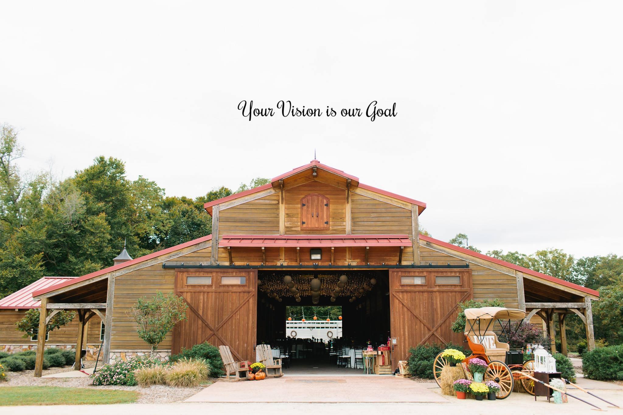 Barn Wedding Venues NC  Rustic Barn Weddings  Wedding Barn in NC