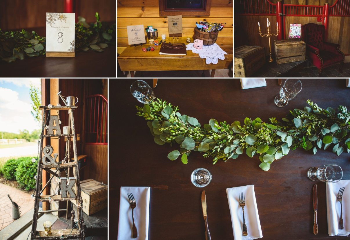 Barn Wedding Venue Decor