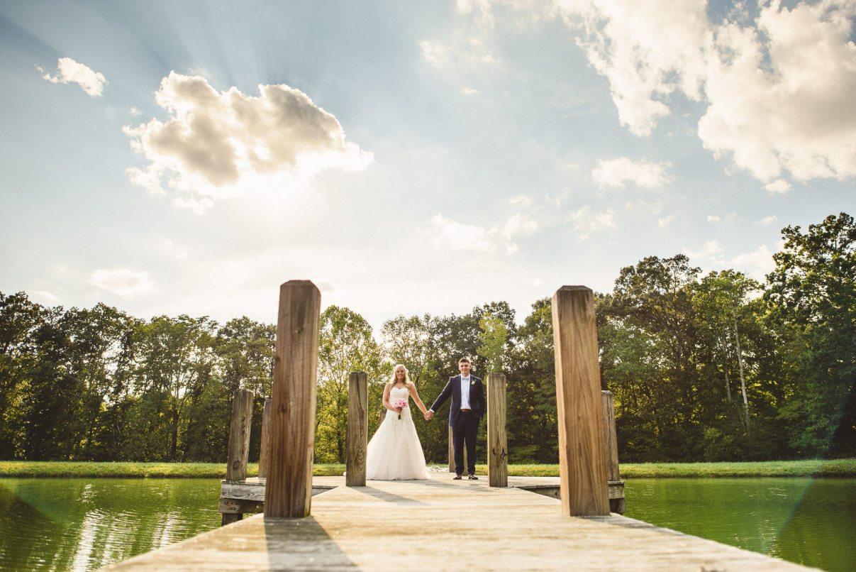 Farm Wedding Venue Pond