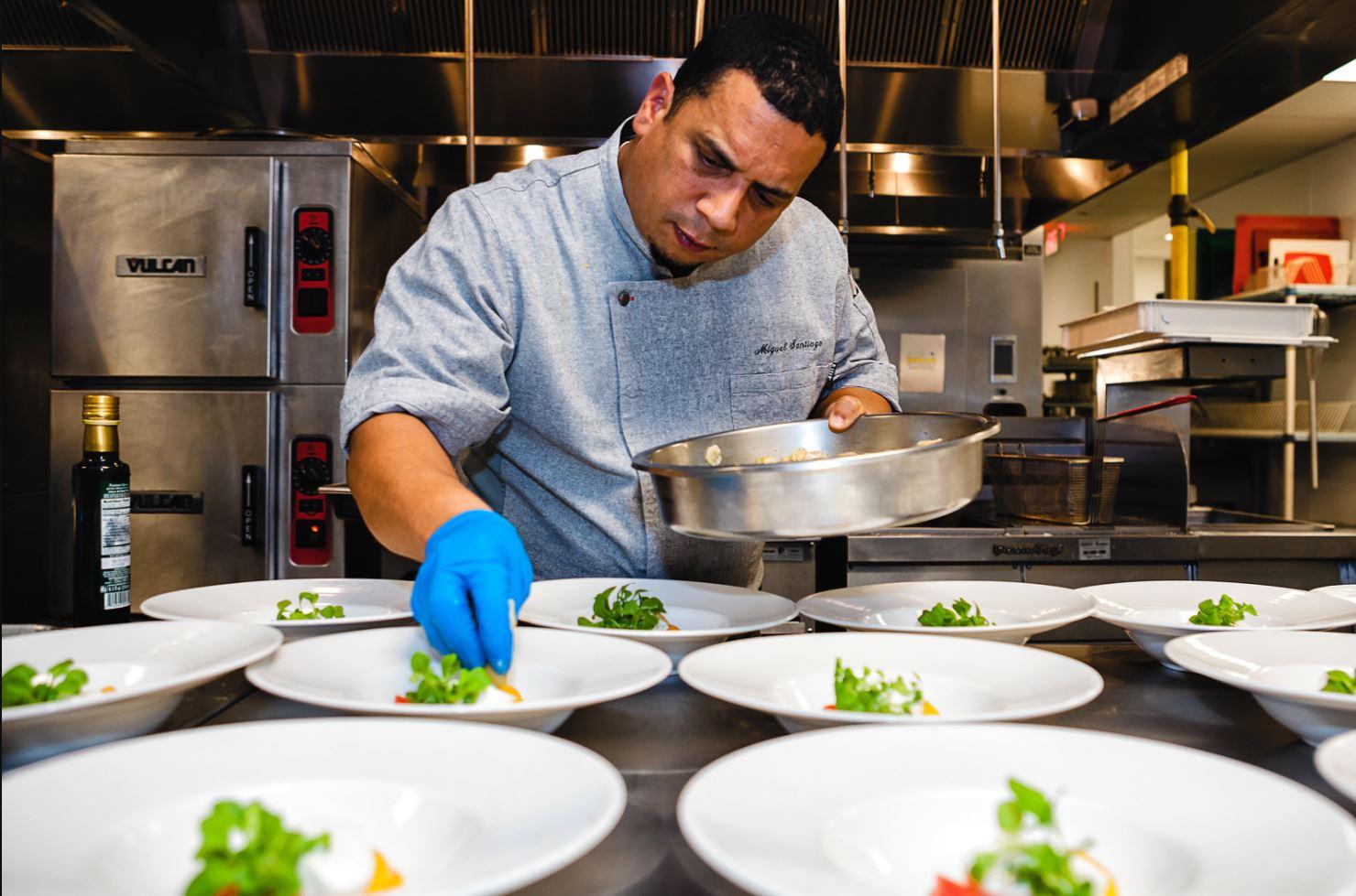 Chef Miguel Santiago at Hilton West Palm Beach