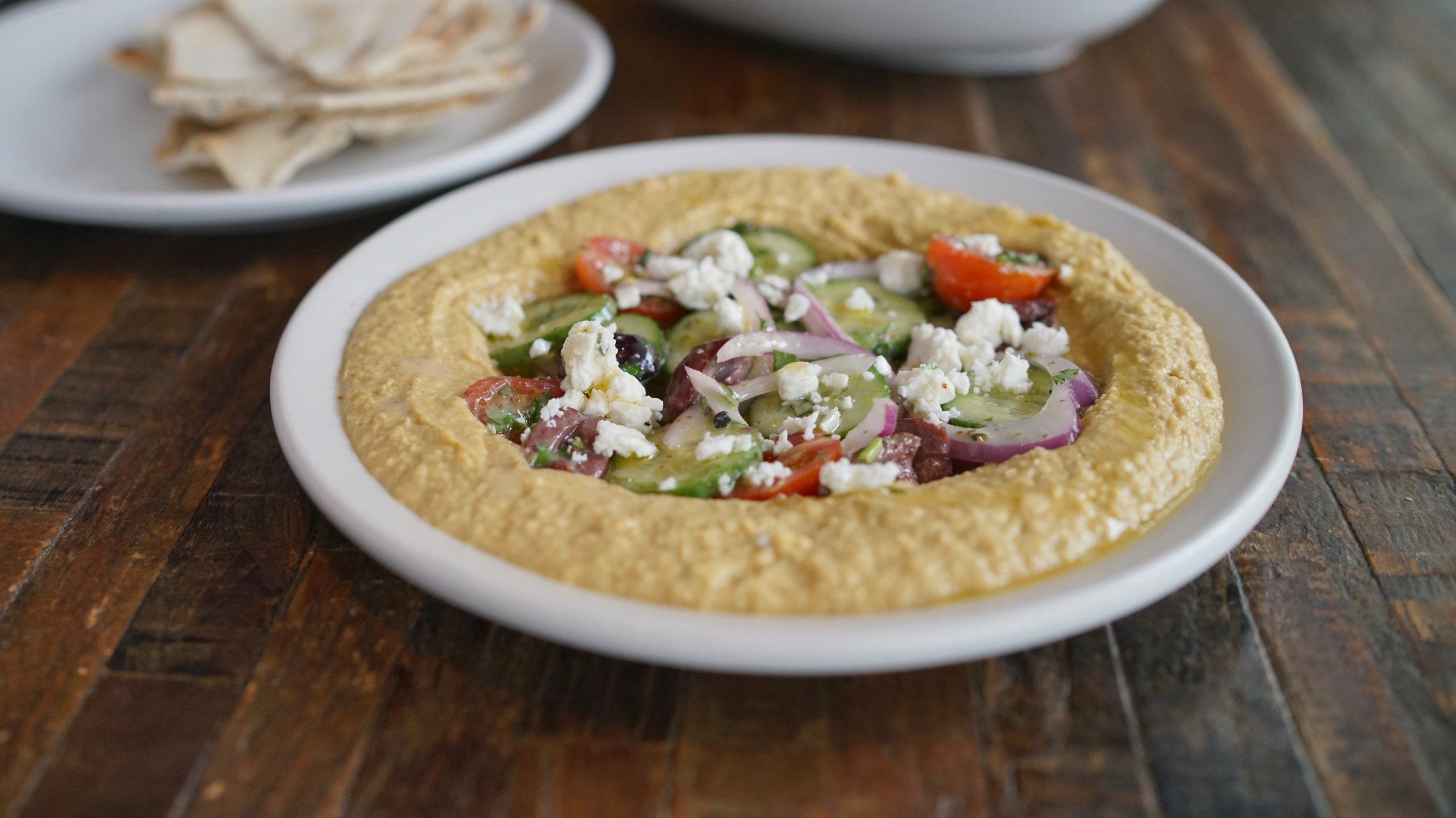 Hummus from True Food Kitchen (coming to CityPlace in 2019)