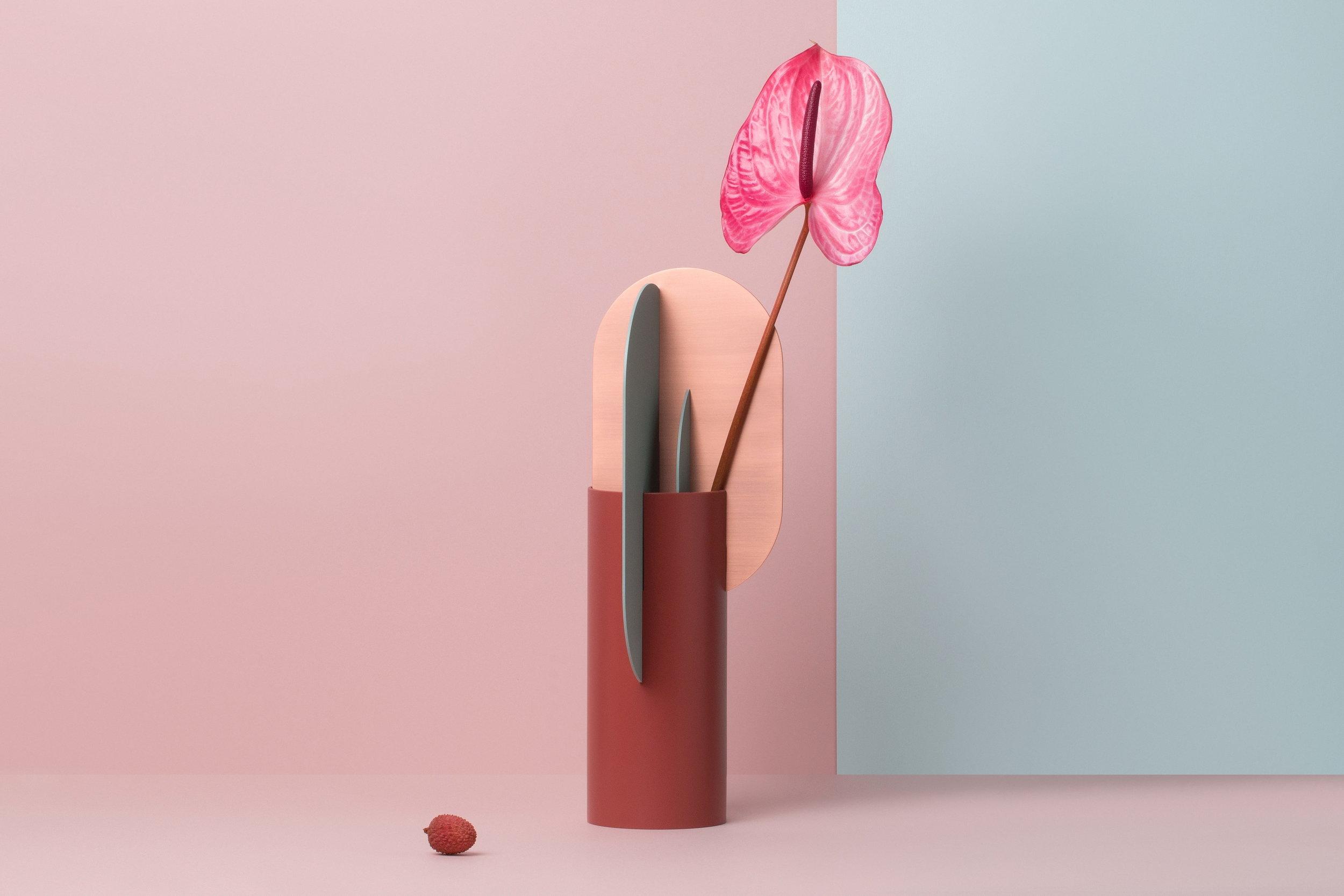 Ekster vase CS1 copper