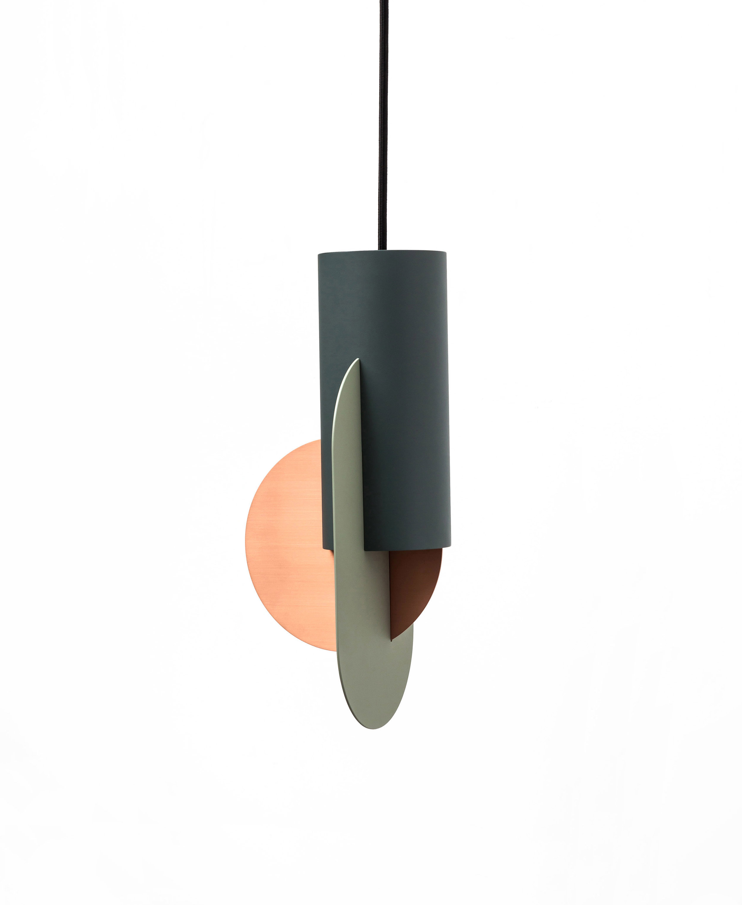 SCULPTURAL - The geometric structure of the lamps will always look like a small art objects in your house.