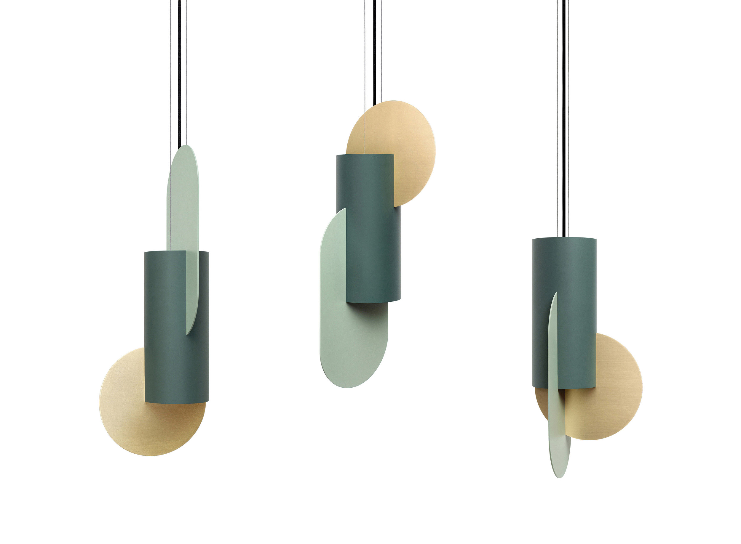 Suprematic Lamps
