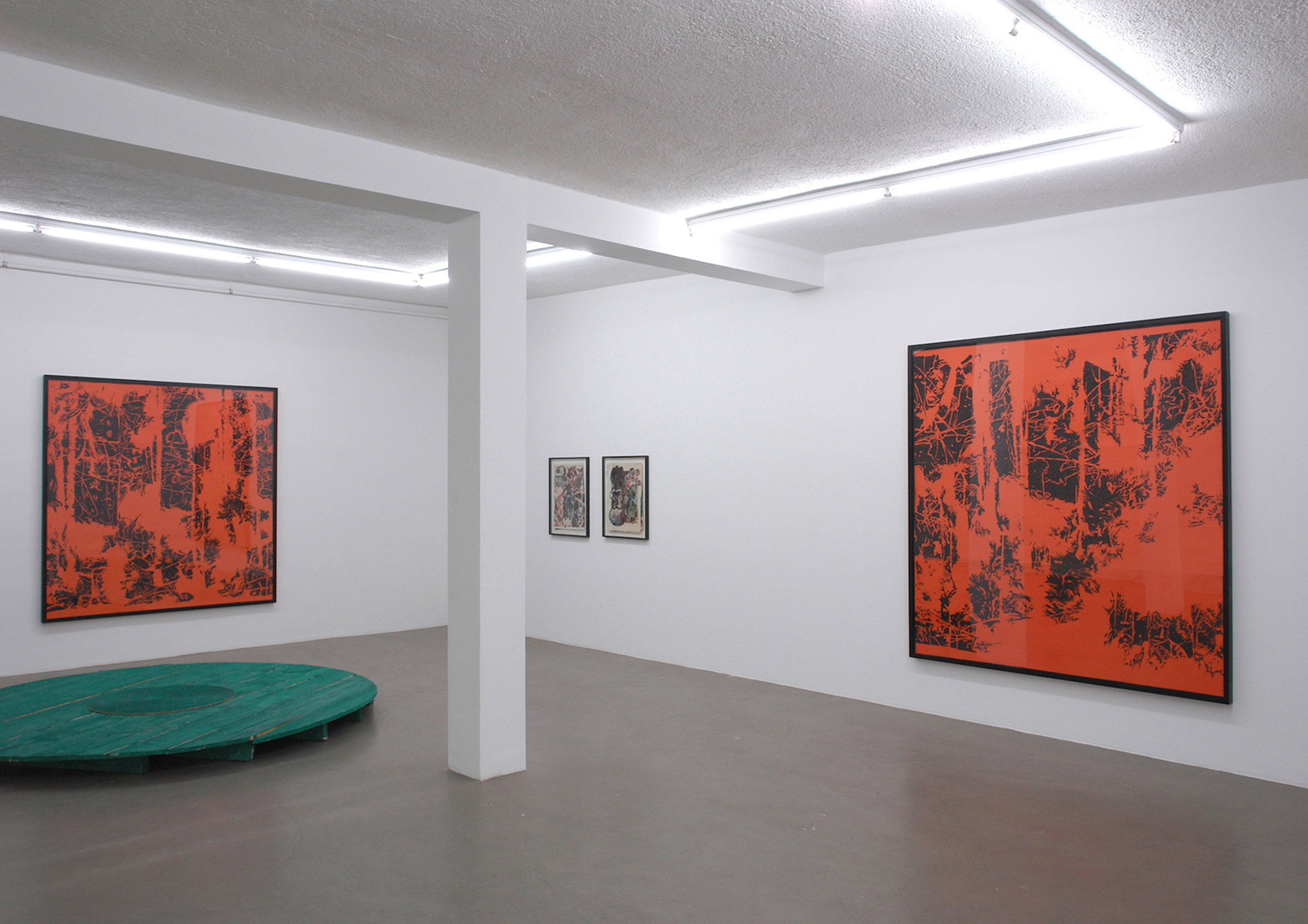 Ausstellung  march, friday or saturday,  Galerie Andreas Grimm, 2007