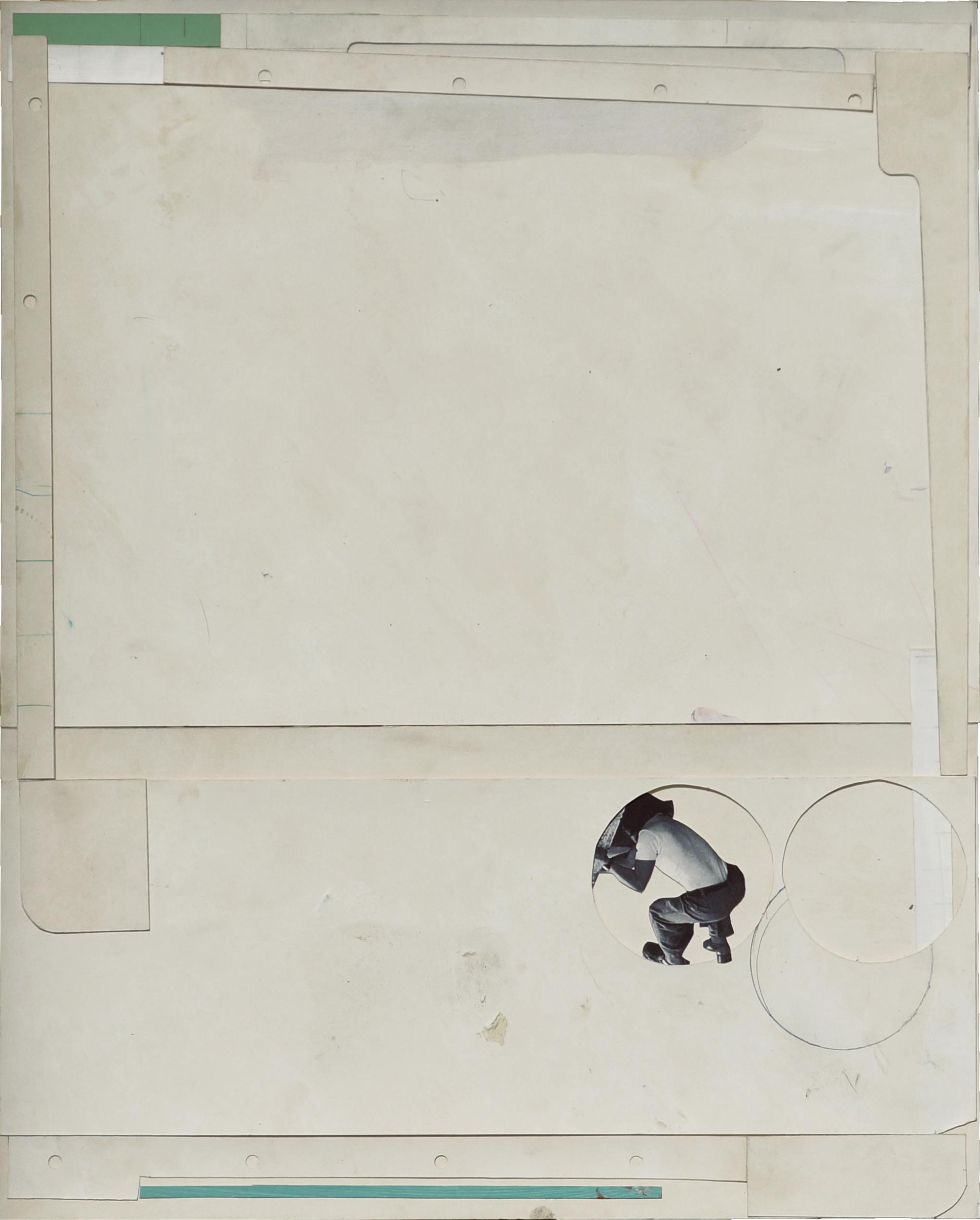 o.T.  Collage, 50cm x 40cm, 2014