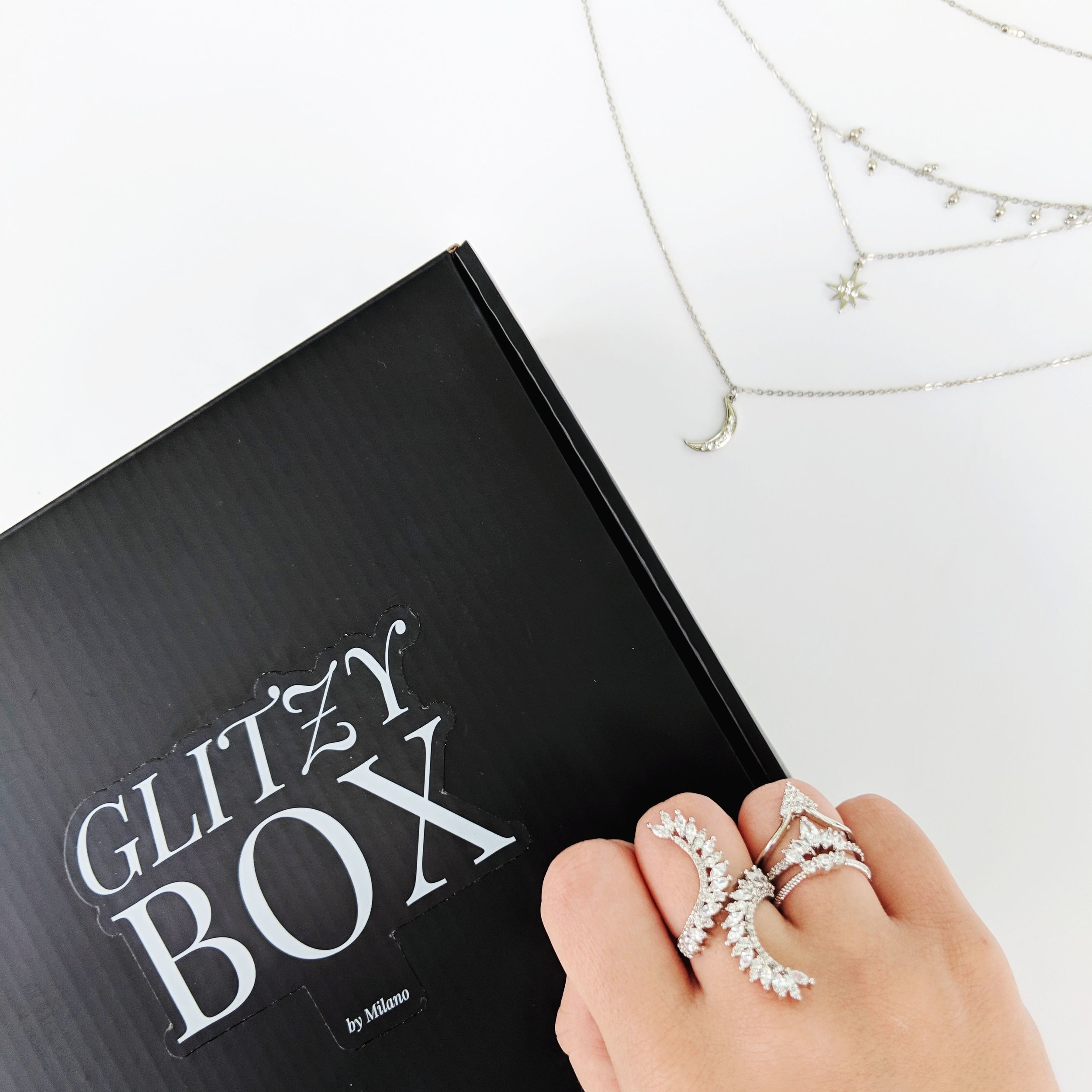 The ultimate jewelry subscription box. - GlitzyBox subscribers get the perfect subscription box for their style, including 4-6 pieces of beautiful jewelry + free gifts…… oh and IT SHIPS FREE.And don't worry about fussing with return labels, each piece you get is yours to wear forever!
