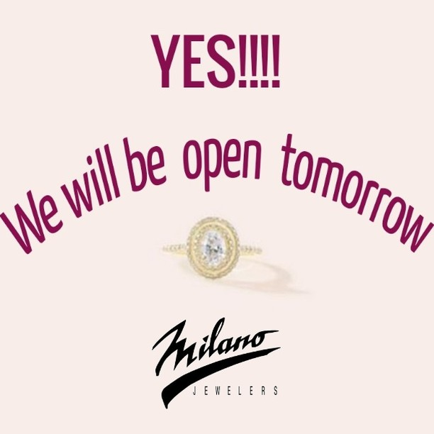 We are rested. We are re-energized. We are back! Looking forward to opening the store tomorrow and greeting you.⁠ ⁠ #weloveourclients #jeweler #openforbusiness #jewelrystore #jewelry #customjewelry #rnjewelers #margate #tamarac #coralsprings #parkland