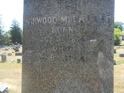 Harwood Badger - - was a Republican from the party's earliest days. He became the poormaster and street commissioner of Elmira. His home on East Avenue was a stop on the UGRR. He died March 9, 1894.