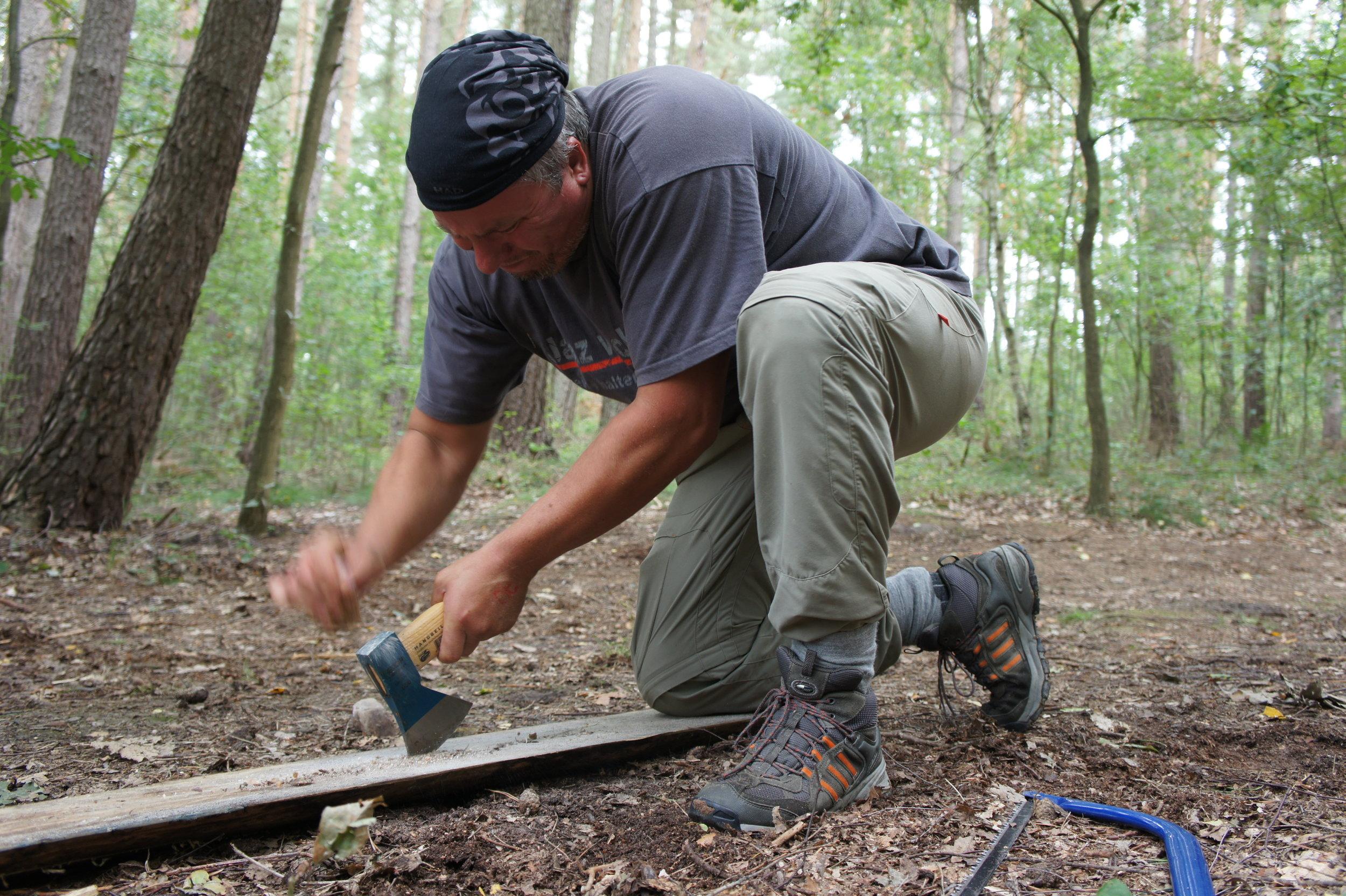 Bushcraft Techniken beim Survival