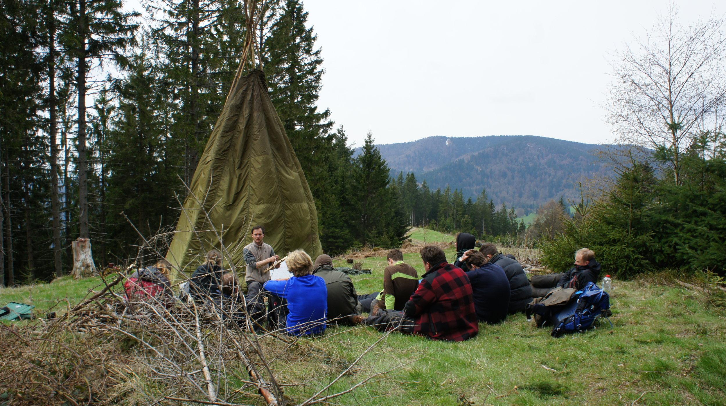 Weiterbildung für Outdoor Guides und Wildnisführer: Instructor Upgrade zum Outdoor und Survival Instructor