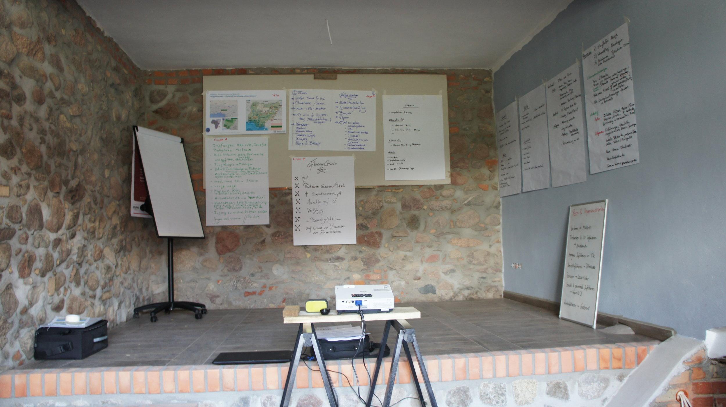 Planung und Vorbereitung
