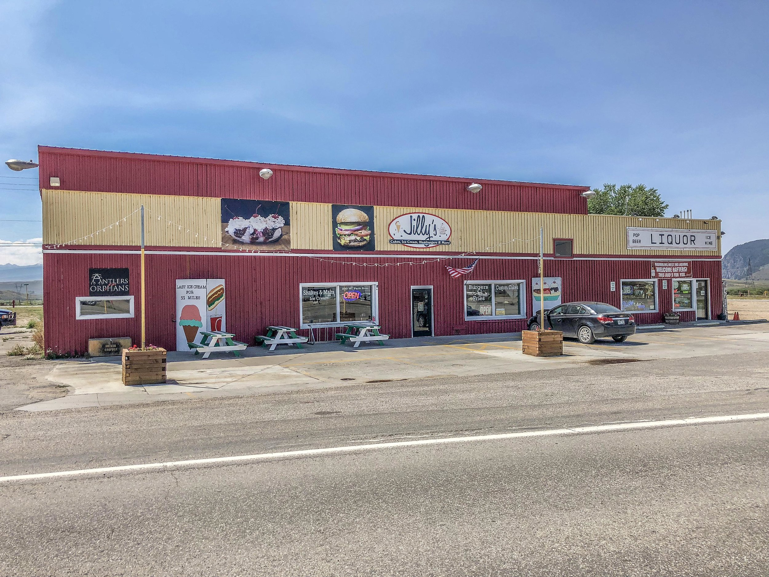 200 W Park Ave - KREMMLING - Versatile commercial location with Highway 40 frontage and lots of parking. Currently the building is mostly occupied and includes a liquor store and warehouse tenant. The vacant portion of the building was a restaurant but has many possibilities. Listed for $379,999