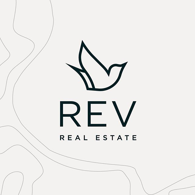 The new brand for REV Real Estate symbolizes both freedom and a sense of place. The logo, inspired by the Western Meadowlark—the state bird of Wyoming, due to it's unique nature and capabilities of building a structurally sound roof over their homes. Designed while @sussnerdesignco