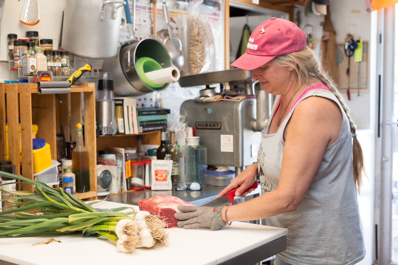 Each method of using garlic will add a different type of flavour to your meat. The length of cooking time will change the flavour you end up with as well. - Sue Palethorpe of Southampton Meat Market