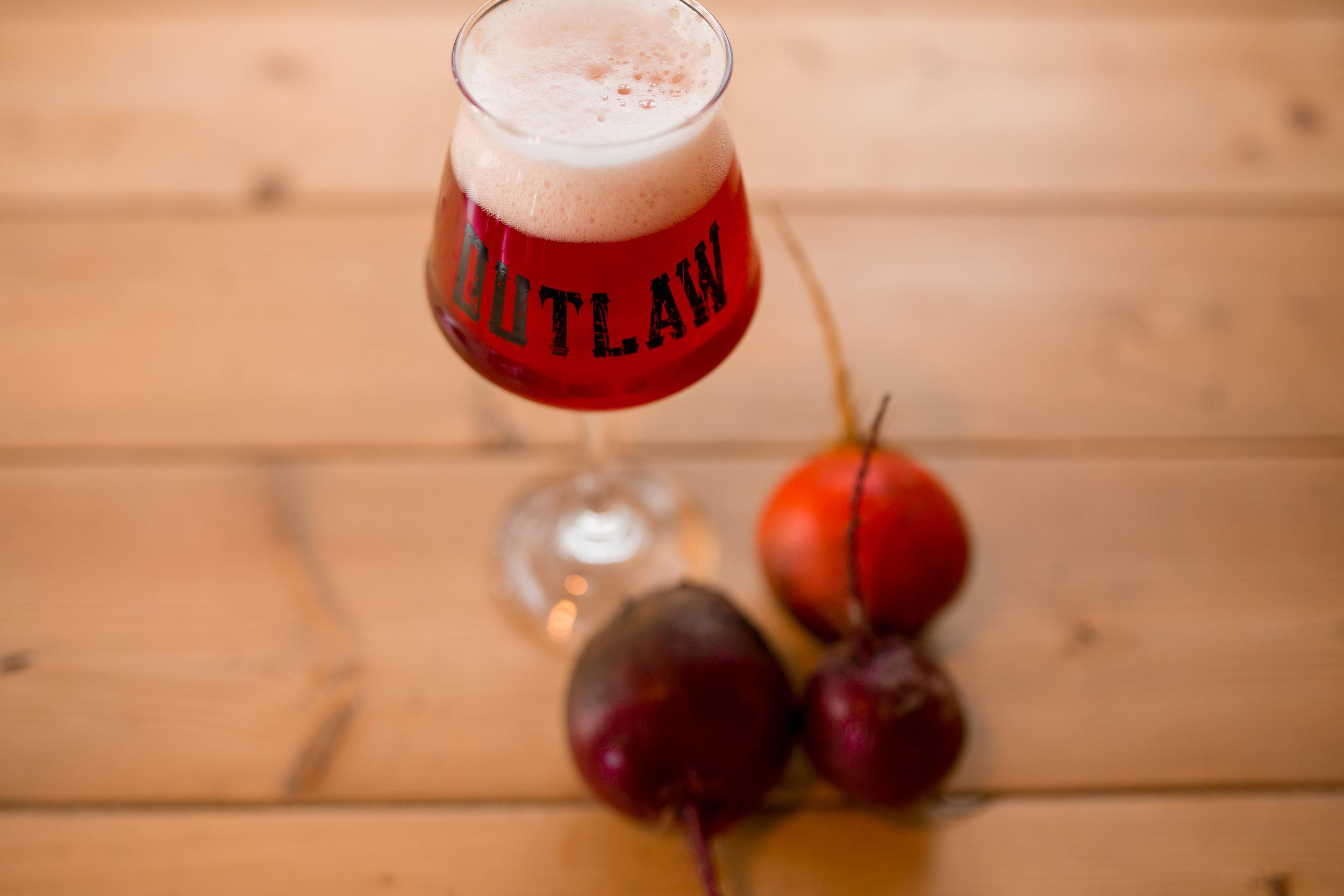 Outlaw's 'Hi-Berry Beet' Beer