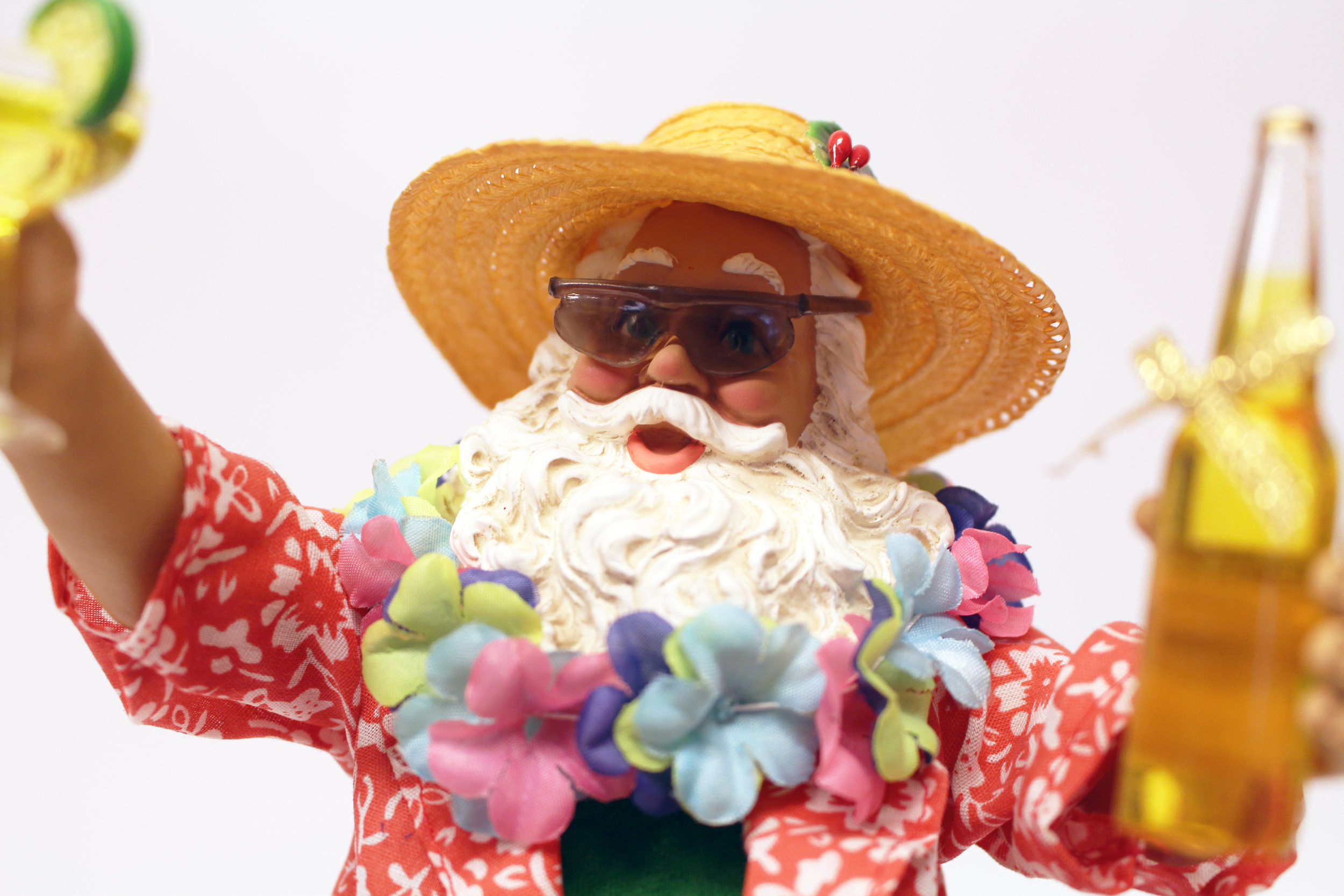 This Beach Santa is one of our sale items…