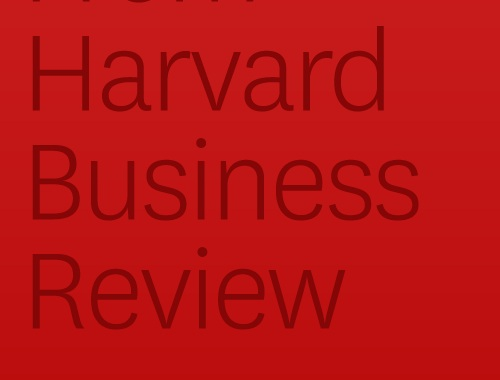 Harvard Business Review, April 26, 2012