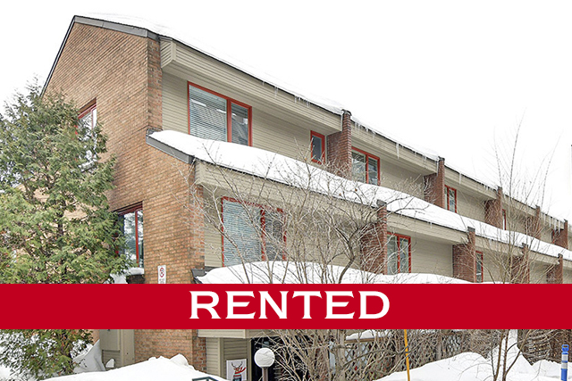 lindenlea 125 SPRINGFIELD Road, unit #1  $3,200/month  this extensively renovated executive townhome is situated in the heart of Lindenlea. Open concept main level features a fantastic kitchen with top of the line appliances & quaint breakfast area. Living room has a corner gas fireplace and access to a large south-facing deck. The second level has two spacious bedrooms, each with ample closet space. There is also a gorgeous bathroom on this level. The master bedroom is located on the 3rd level and has an ensuite & private deck. Covered parking accessed through basement.  This home is now RENTED. For more information, please contact Dominique Milne and Lyne Burton. *Price displayed is list price, not RENT price.*