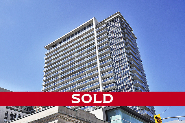 324 Laurier Avenue West, unit 1807 Downtown  $274,900  Chic urban living in this 1-bedroom condo at The Mondrian. Easy walking distance to two LRT stations, Parliament Hill, Bank Street shops and restaurants, the ByWard Market, the Canal, Sparks Street and riverfront paths. A wall of windows takes in dynamic 18th floor views towards the north. A modern kitchen, an exposed concrete ceiling, and an open concept living space create a loft-like atmosphere. The bedroom has sliding corner doors for privacy. Ample closet space and in-suite laundry. Amenity-rich building with a gym, party room, and a glamorous pool deck and outdoor lounge.  THIS HOME IS NOW SOLD. FOR MORE INFORMATION, PLEASE CONTACT DOMINIQUE MILNE AND LYNE BURTON. *PRICE DISPLAYED IS LIST PRICE, NOT SALE PRICE.*