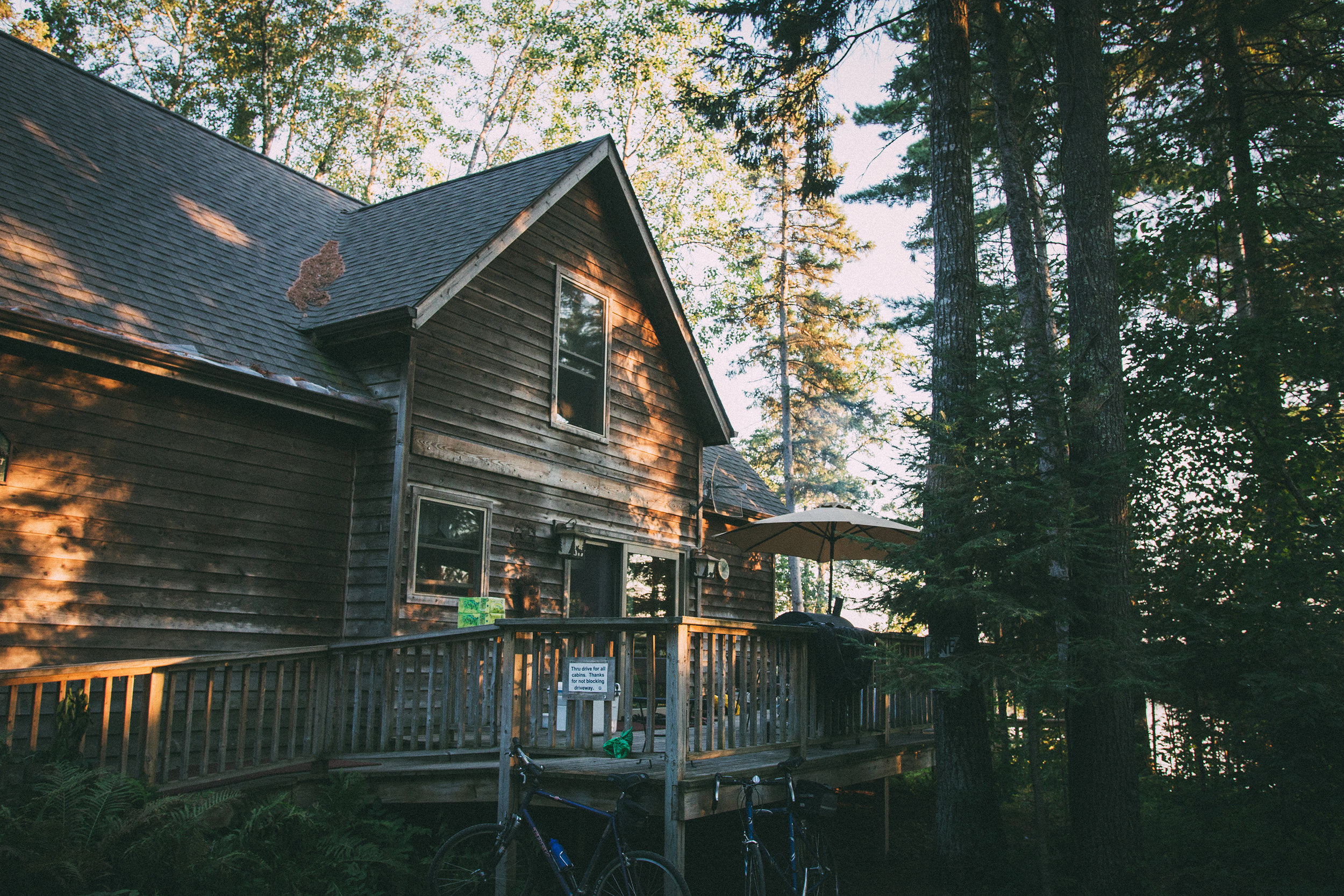 Cabin 19, our home-away-from-home for 1 week a year (and in our hearts forever)