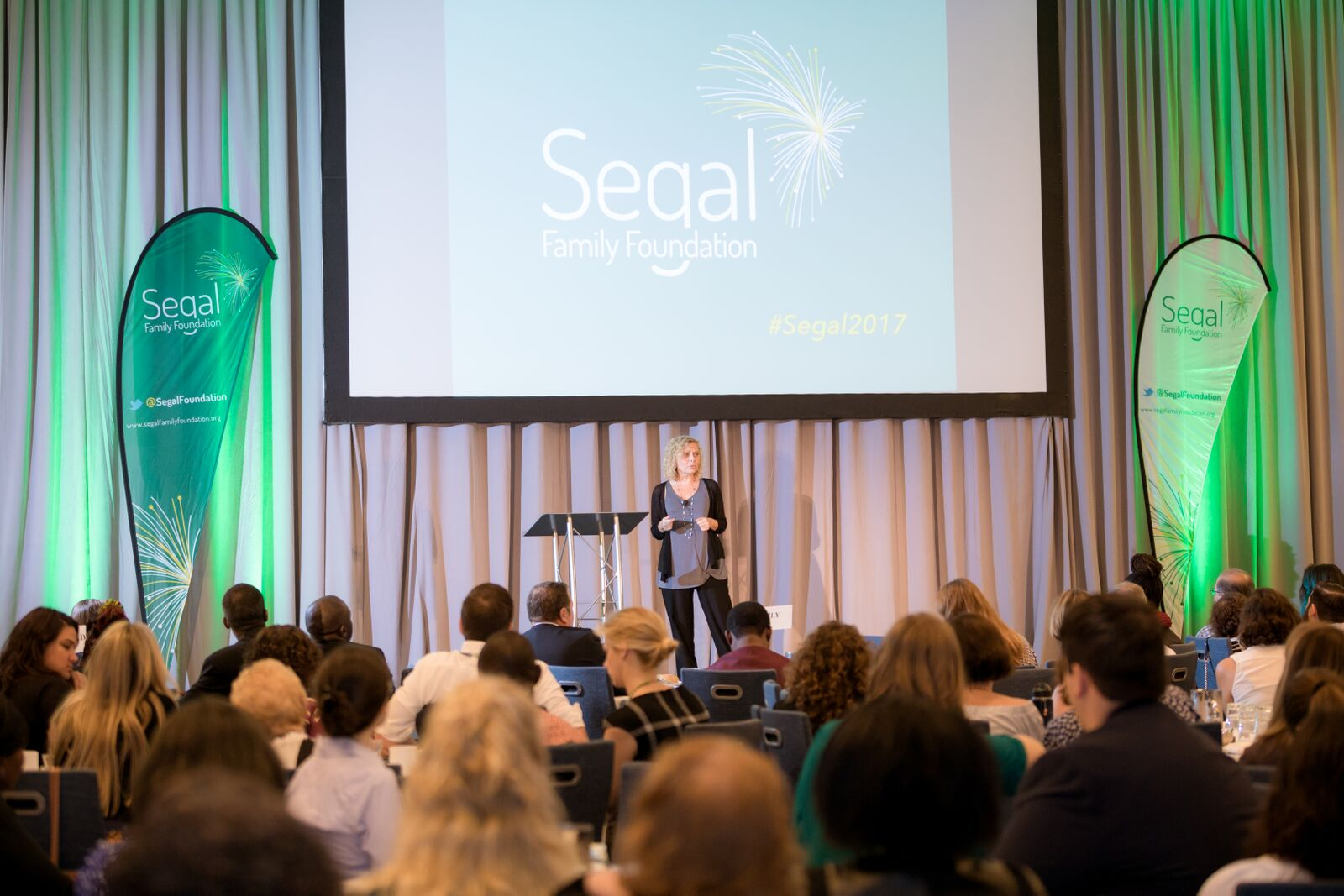 Segal Family Annual Foundation Non-profit Conference Gala Jersey City Crowd Audience Speakers Corporate