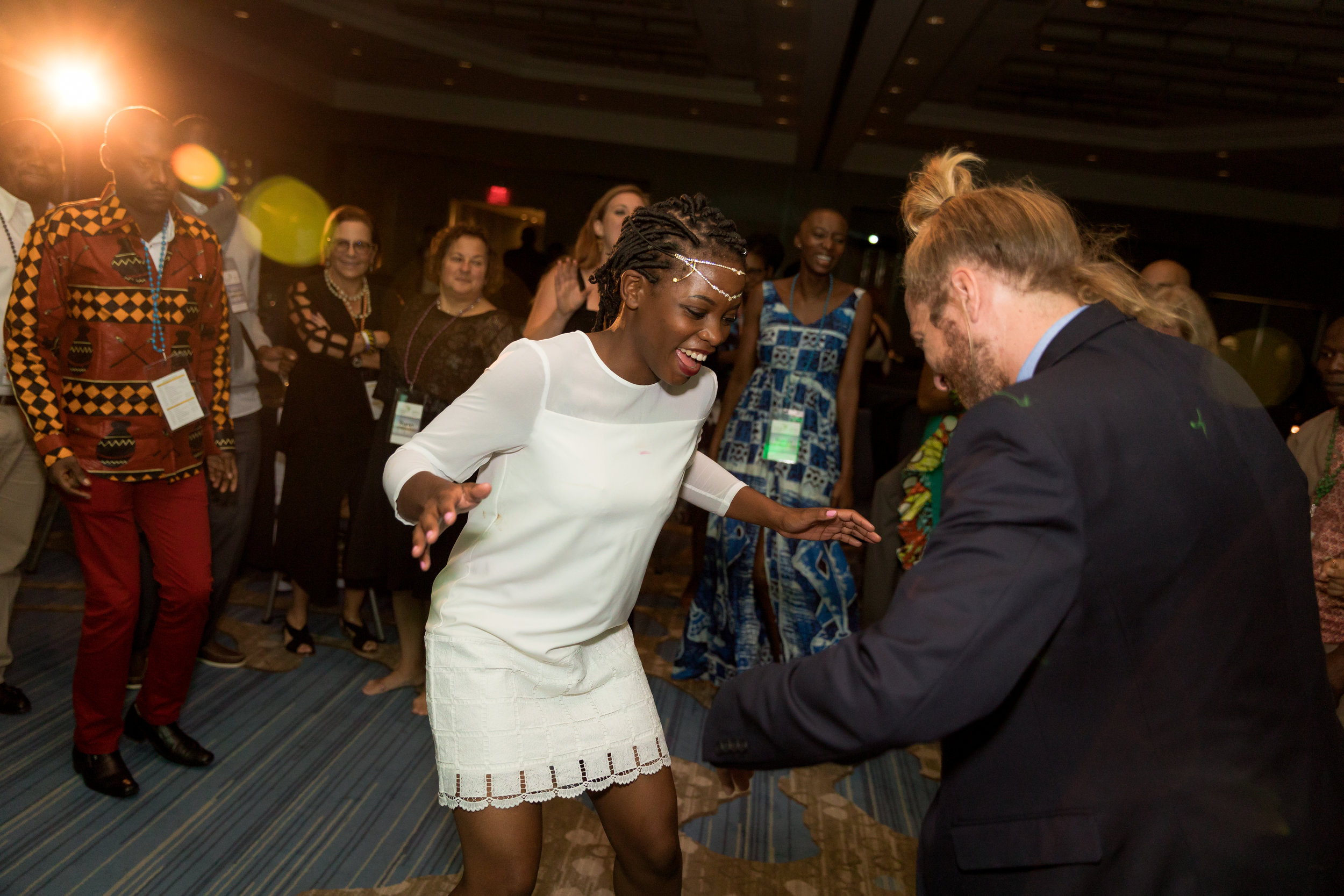 Dance Party at the Segal Family Annual Meeting Gala at the Hyatt in Jersey City