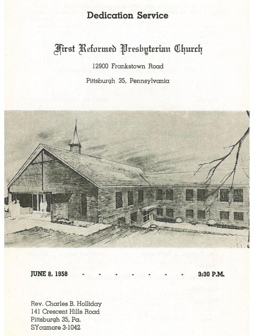 Penn Hills church dedication