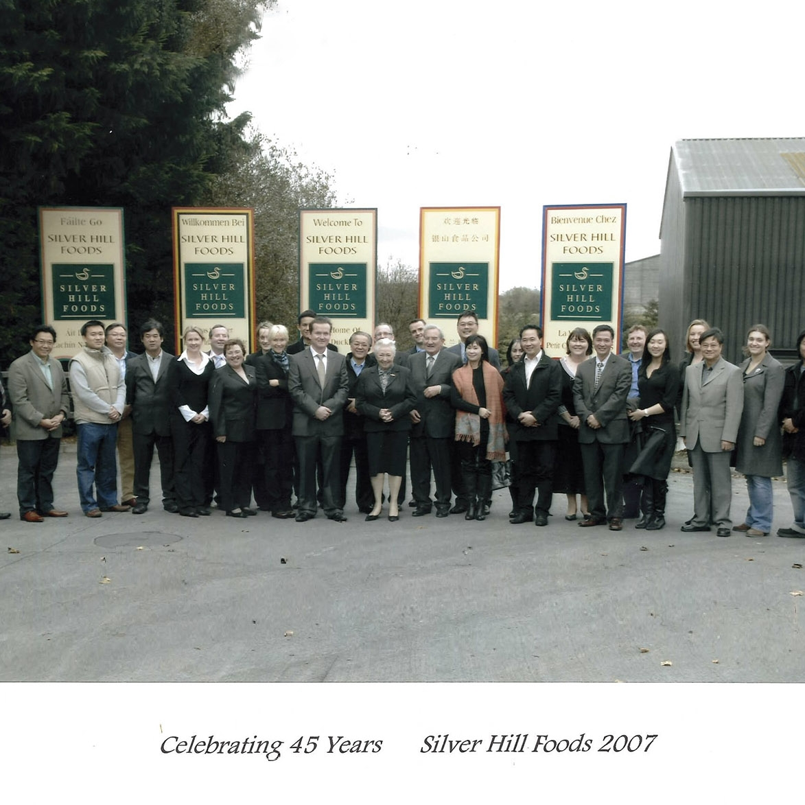 45 Years - 2007We celebrate 45 years in business with our ever expanding customer base from all around the world.
