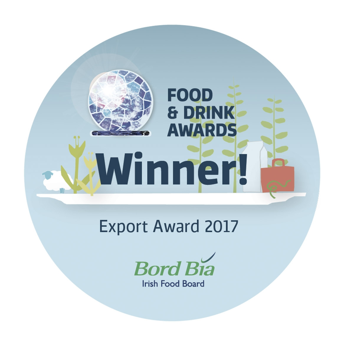 Bord Bia Export Award - 2017Silver Hill Farm won the prestigious Bord Bia Export Award for our success in overseas markets. A fantastic achievement for our outstanding and dedicated team of employees.