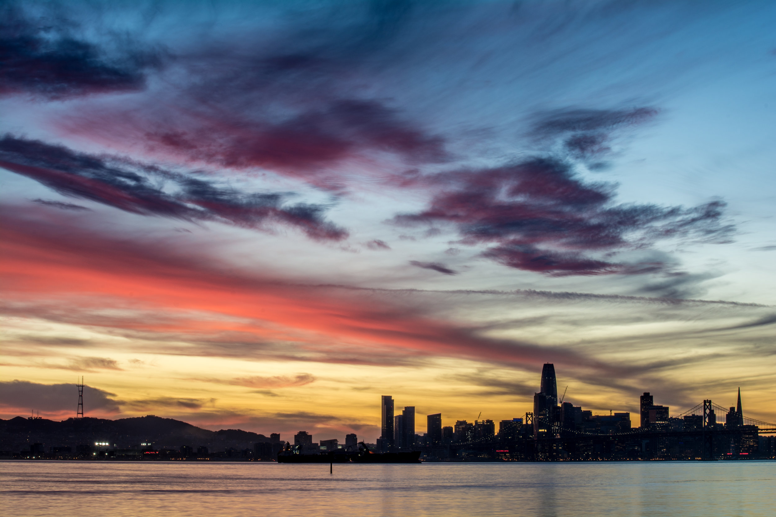 Colorful SF Sunset