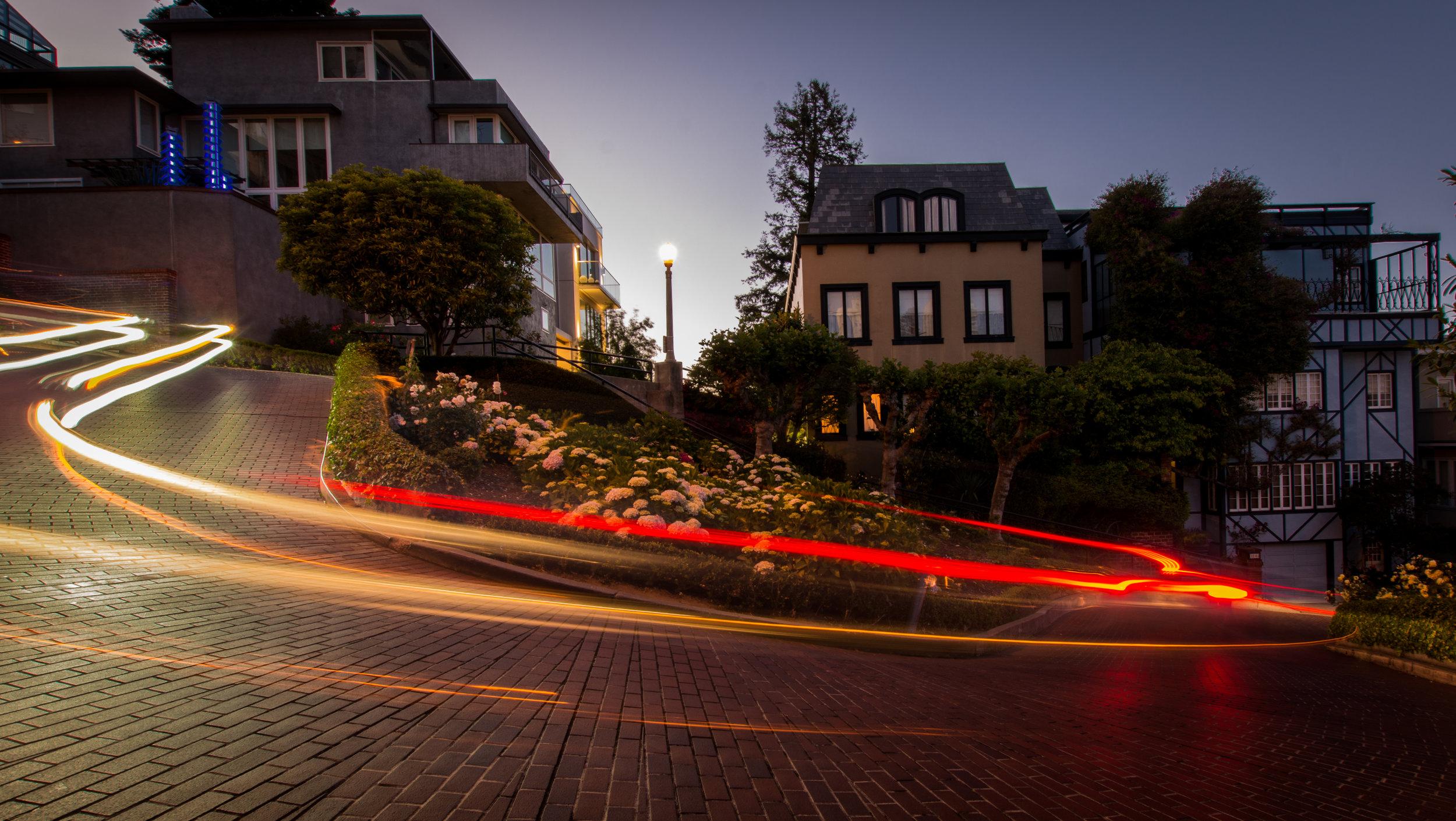 Lombard St Lights