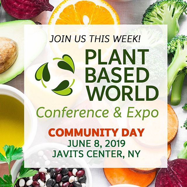 Plant Based World Conference & Expo is coming to New York City this week! Have you got your tickets yet? . . . .  #LinkInBio #PlantBasedWorld #PBW2019 #PBWDPP #Plantbased #Plantbaseddiet #Plantbasedexpo #Plantbasedevent #nutrition #plantbasednutrition #plantbasedliving  #health #veganhealth #veganfood #plantbasedfood #vegansofig #vegansofinstagram #newyorkvegans #healthyliving #crueltyfree #nutritionfacts #plantpower #bodybyplants #plantbasedfoods #plantbasednews  #veganbusiness #plantbasedmedicine #healthyeating #plantmedicine