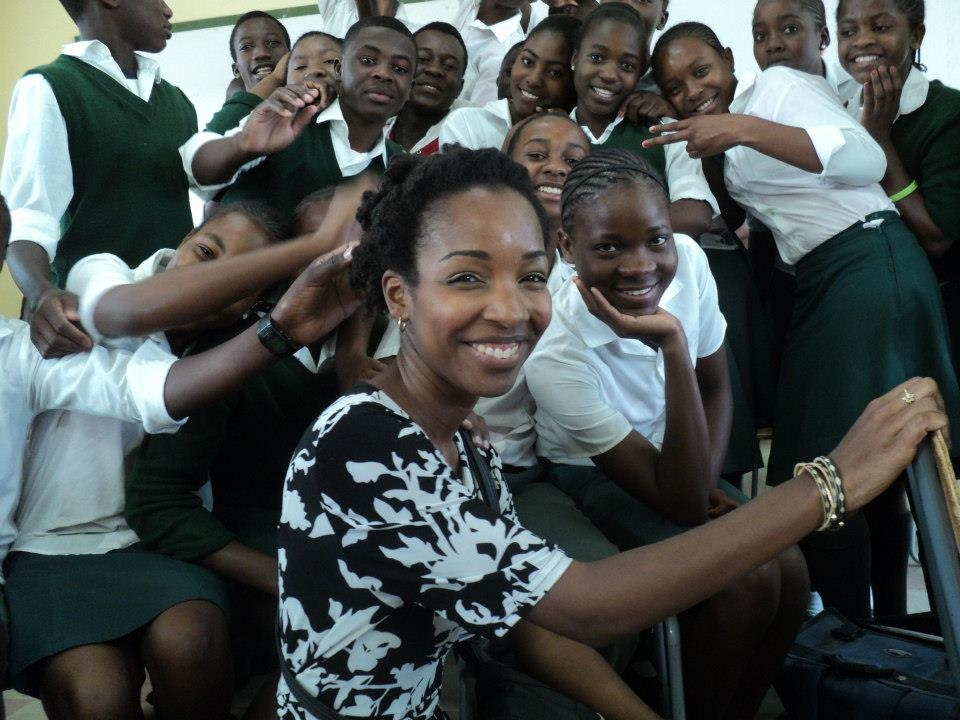 I first moved to Namibia in 2010 as a volunteer teacher. This is me the next year visiting my former students as the Namibia Country Director of my volunteer organization (WorldTeach).